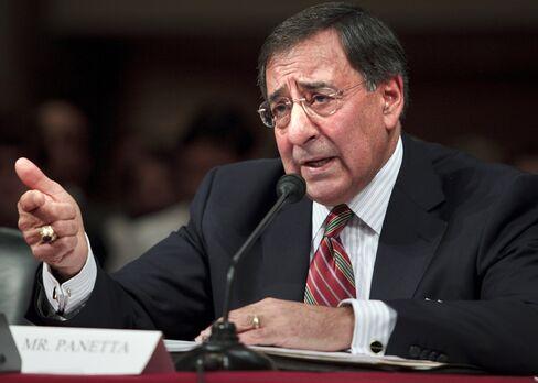 U.S. Defence Secretary Leon Panetta