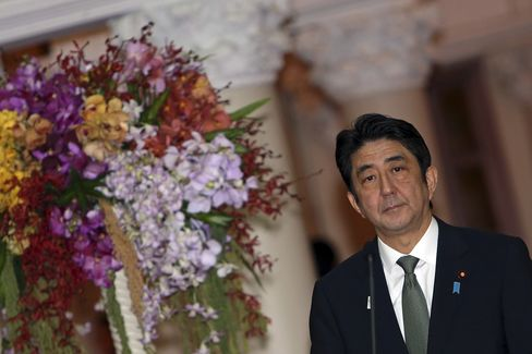 Abe's Envoy Gives Letter to Xi in Bid to Ease Japan-China Spat