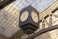 relates to New York's Newest Public Clock Is a Triumph