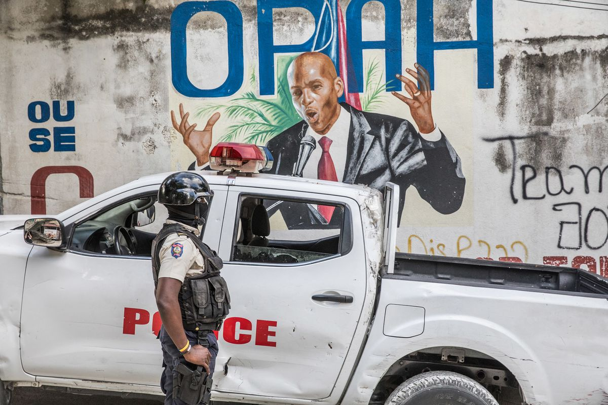 Haitian Fugitive Ordered Colombians to Kill Moise, Police Say