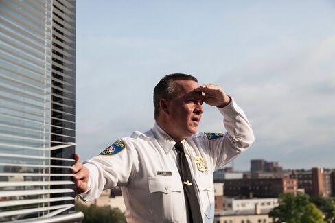 Interim Police Commissioner Kevin Davis on July30.