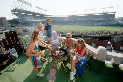 Wrigley Field's Planned Renovation Threatens a Chicago Rooftop Tradition
