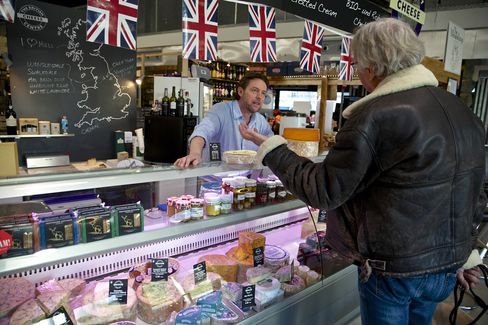 The British Cheese Centre Owner Michael Fontana-Jones