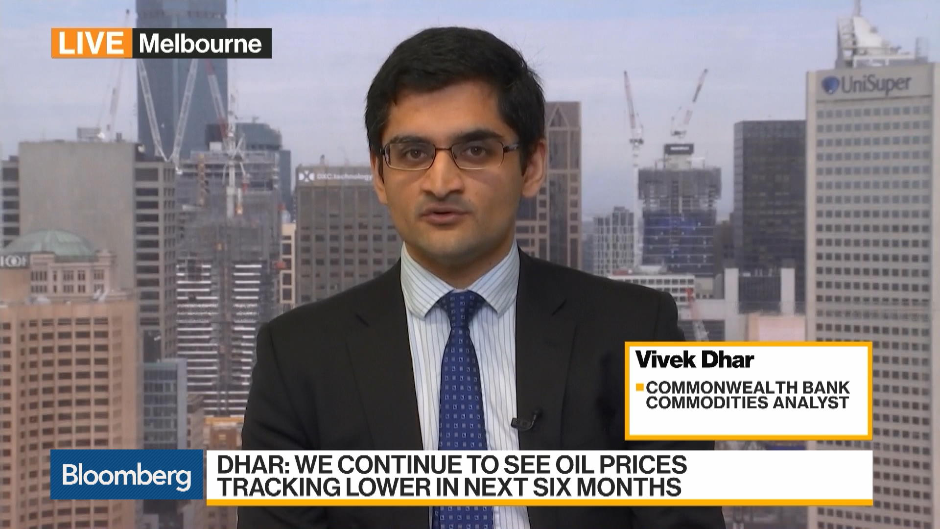 Oil Will Trend Lower Until Bottoming in First Quarter of 2020, Commonwealth's Dhar Says