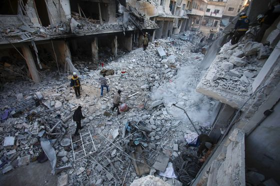 Russia Strong-Arms UN to Bolster Assad and Putin's Mideast Clout