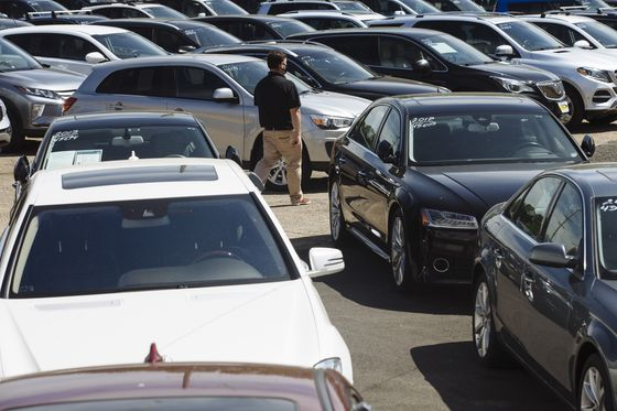 Used-Car Prices Are Poised to Peak in U.S. After Pandemic Surge