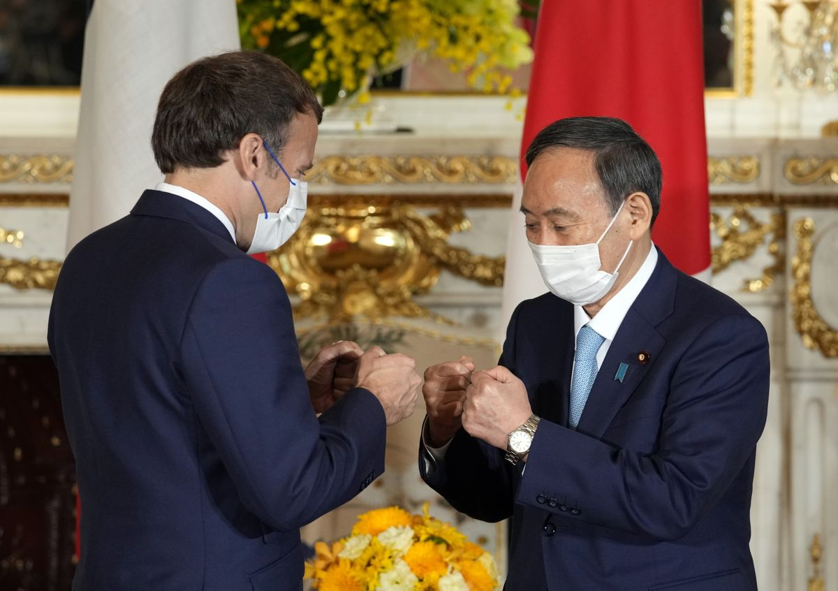 Japan, France to Boost Defense Cooperation Over Indo-Pacific