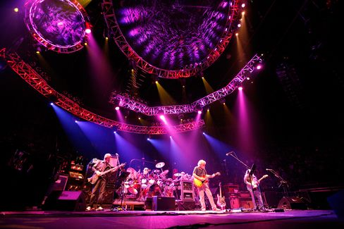 The Grateful Dead playing in Los Angeles in 2009.