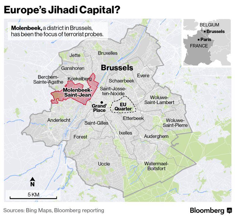Map Of Neighborhoods In Brussels Map Of Neighborhoods In Bangkok - Where is brussels