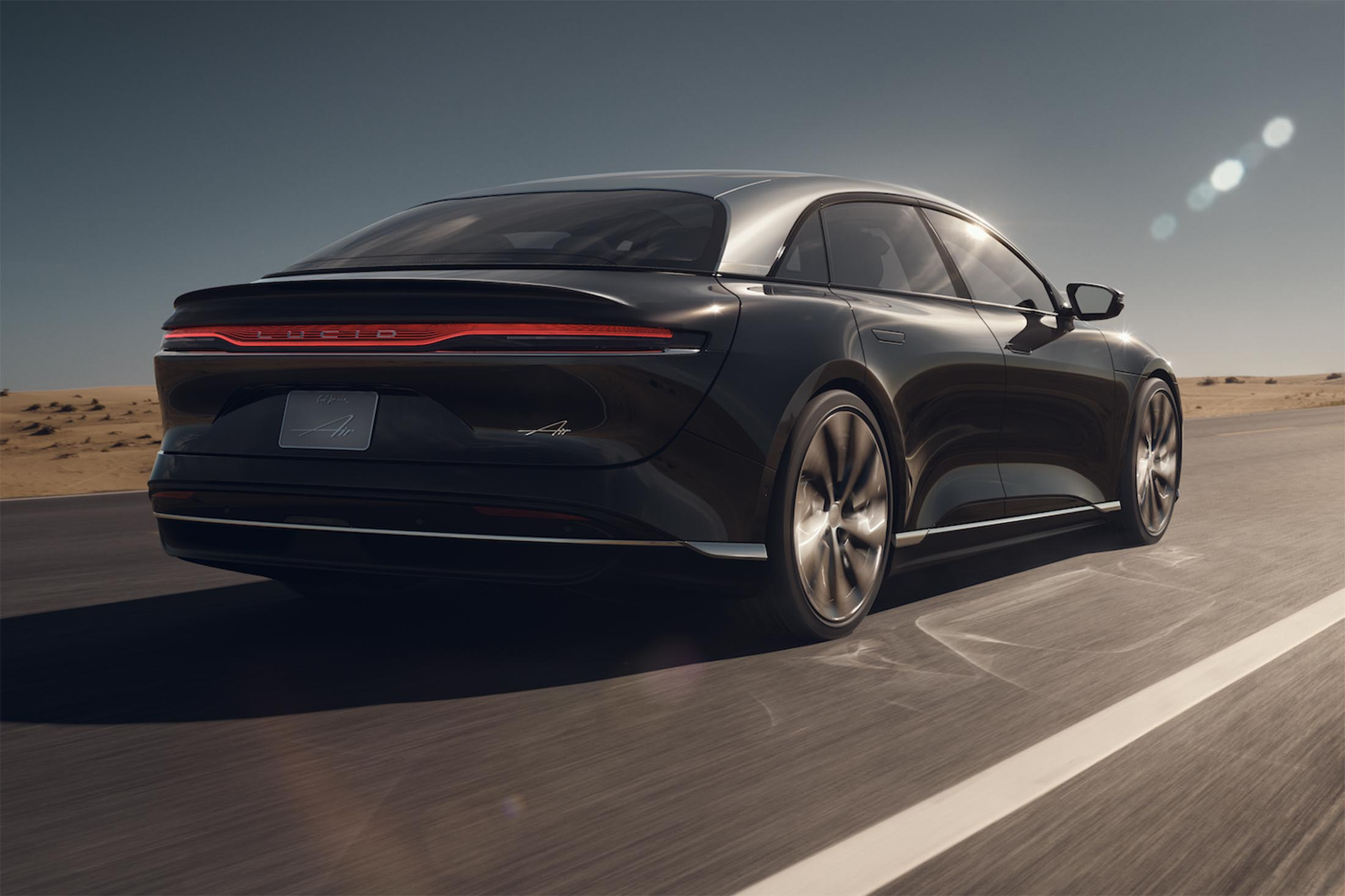 relates to How Lucid's New Electric Car Stacks Up Against Tesla and Porsche