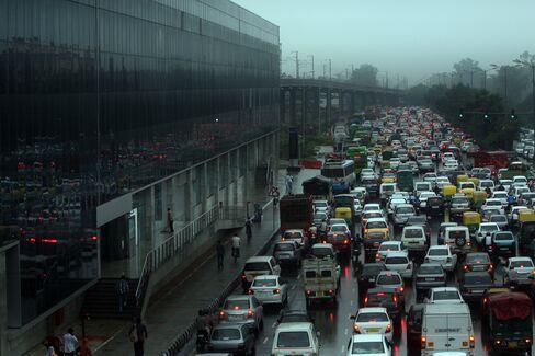 Traffic Jam in New Dehli