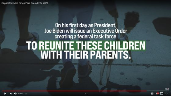 Biden Says He'll Work to Reunite Migrant Families on Day One