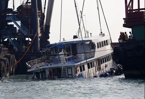 Hong Kong Arrests Seven After Boat Crash Leaves at Least 38 Dead