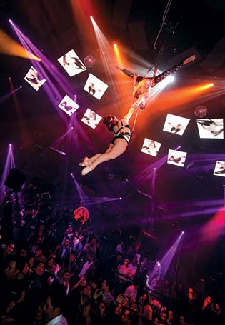 Aerialists at Light