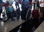 Operations at Hong Kong International Airport After Chaotic Night of Protest