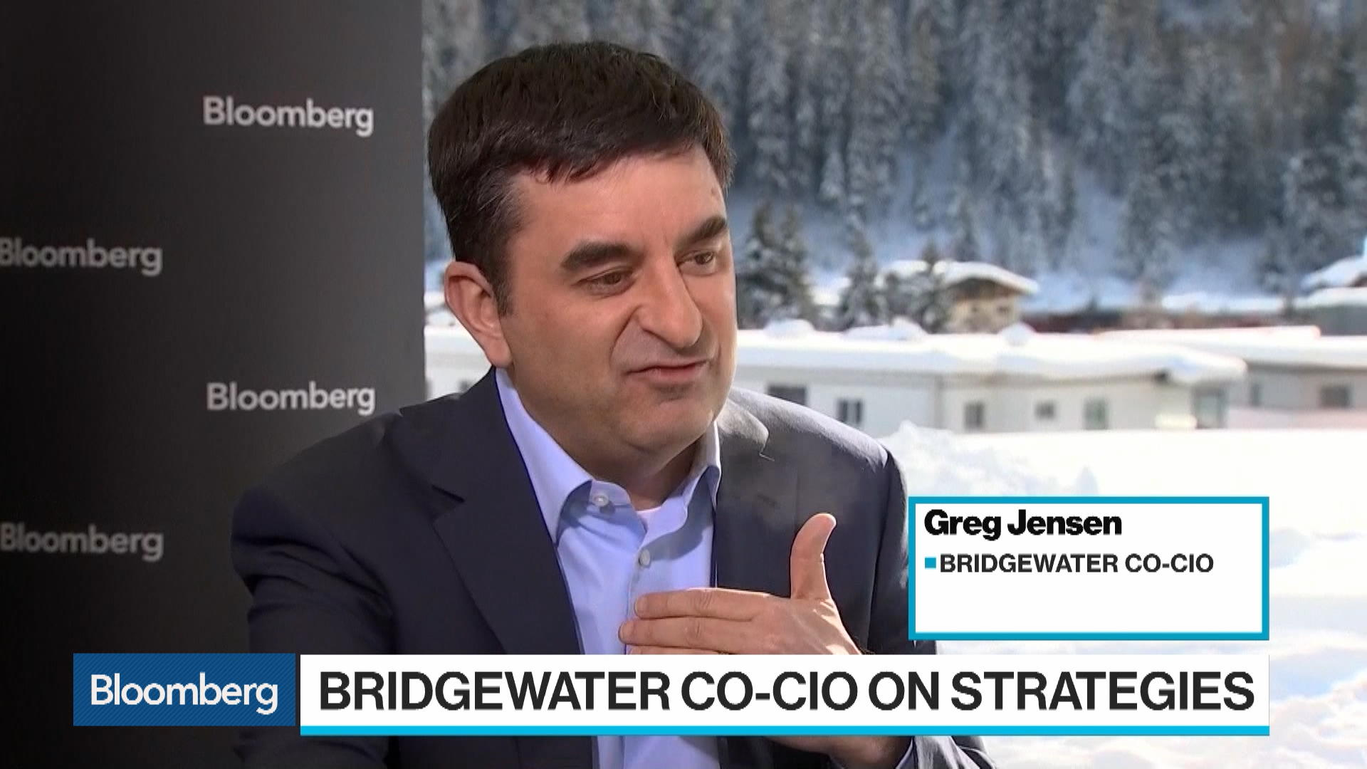 Bridgewater's Greg Jensen Says Markets Could Be Worse - Bloomberg