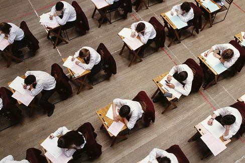 Why Do Would-Be Business Majors Bomb on the SAT?