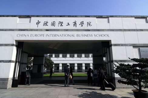 Passport to an MBA: CEIBS