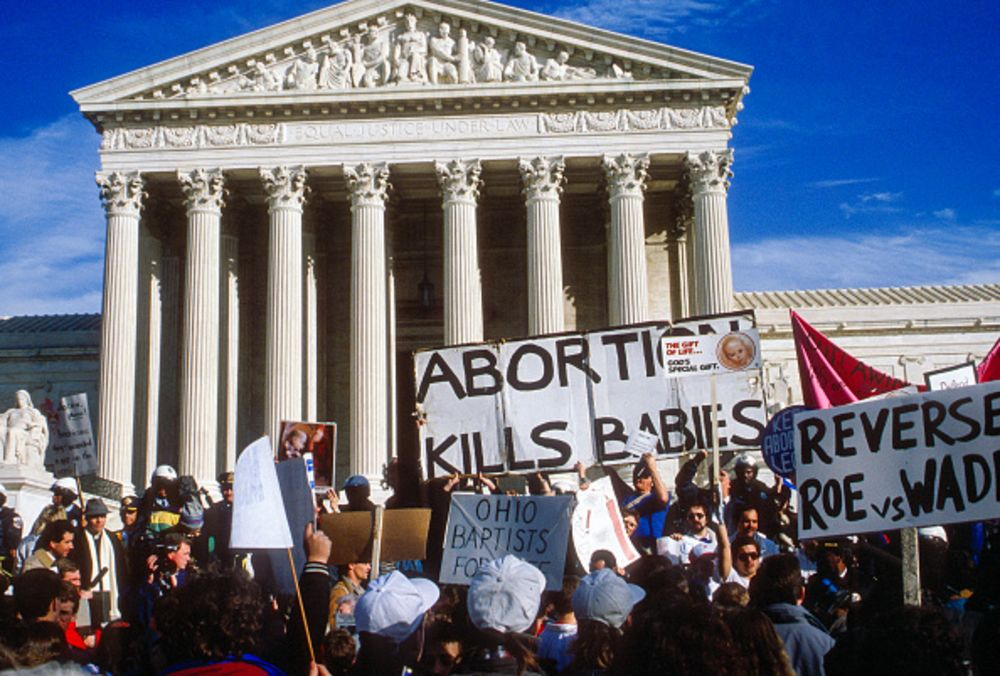 Three Truths About Abortion And The Supreme Court  Bloomberg Abortion Opponents In