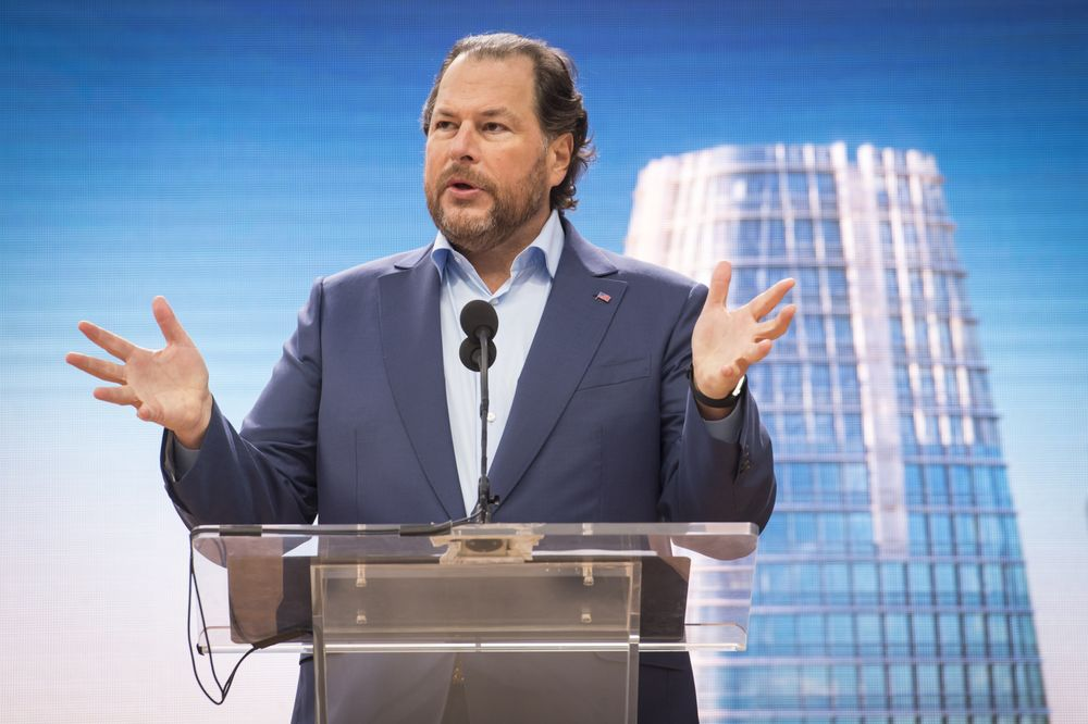 Time bought by Marc Benioff and Wife, Lynne