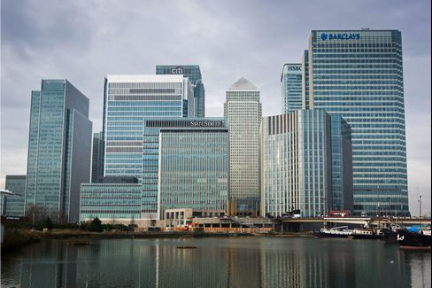 10 Upper Bank Street In Canary Wharf