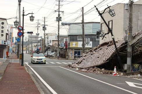Google Releases Street View Images From Fukushima Ghost Town