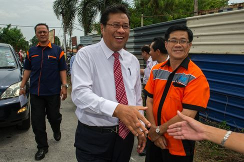 Selangor's Chief Minister Khalid Ibrahim