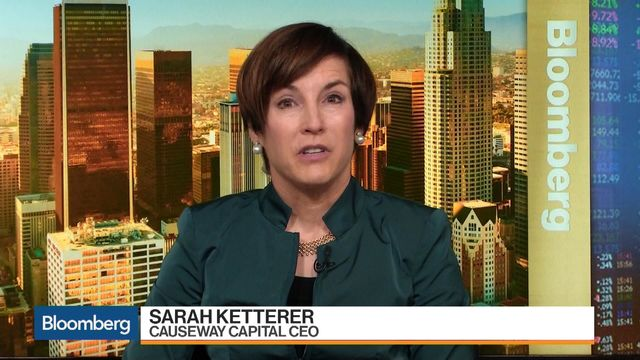 Sarah Ketterer chief investment officer at Causeway Capital says some tech stocks got ahead of themselves