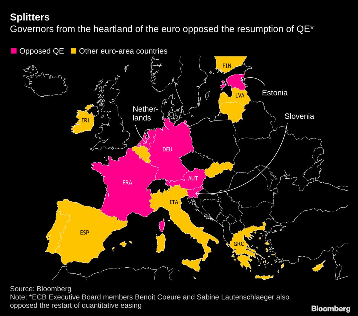 ECB Members Seek New Ways as Inflation Fades With Draghi Era