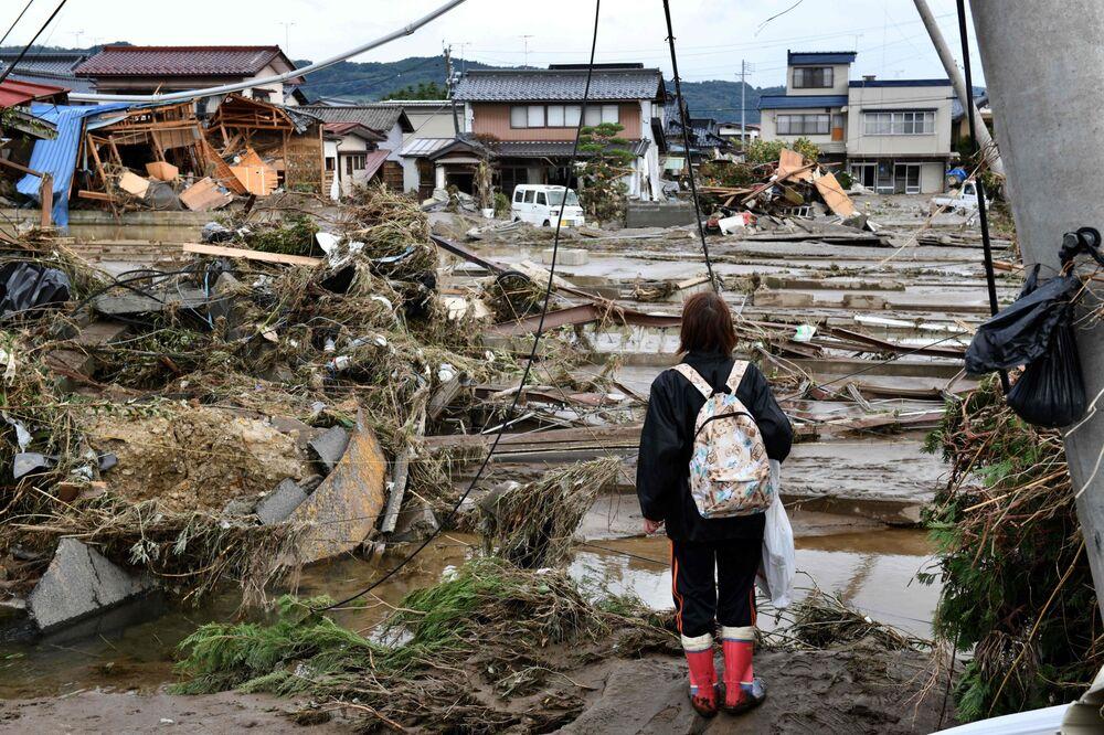 台風19号被害で政府が補正予算編成の検討も-激甚災害指定を準備 - Bloomberg