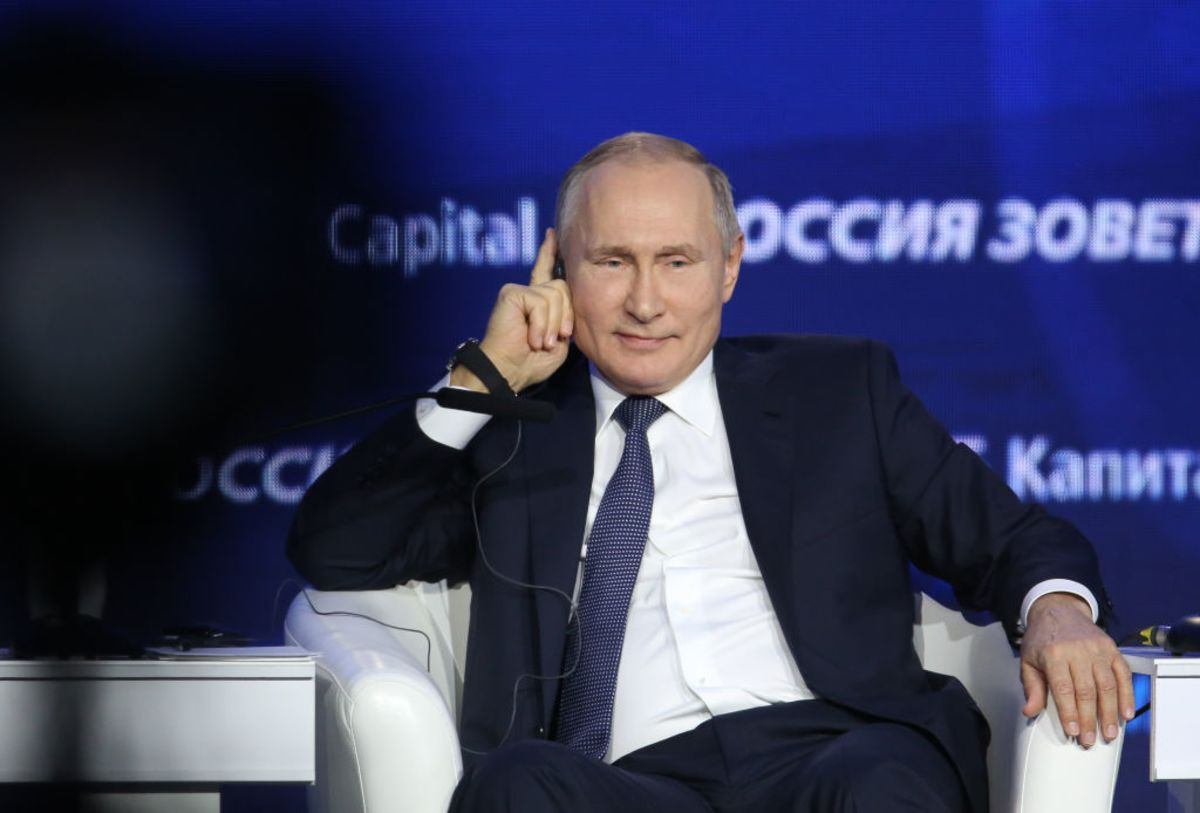 Putin Is Seeing 'Foreign Agents' Everywhere