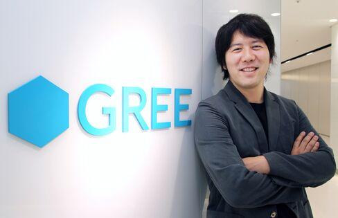 Gree Inc.  CEO Yoshikazu Tanaka