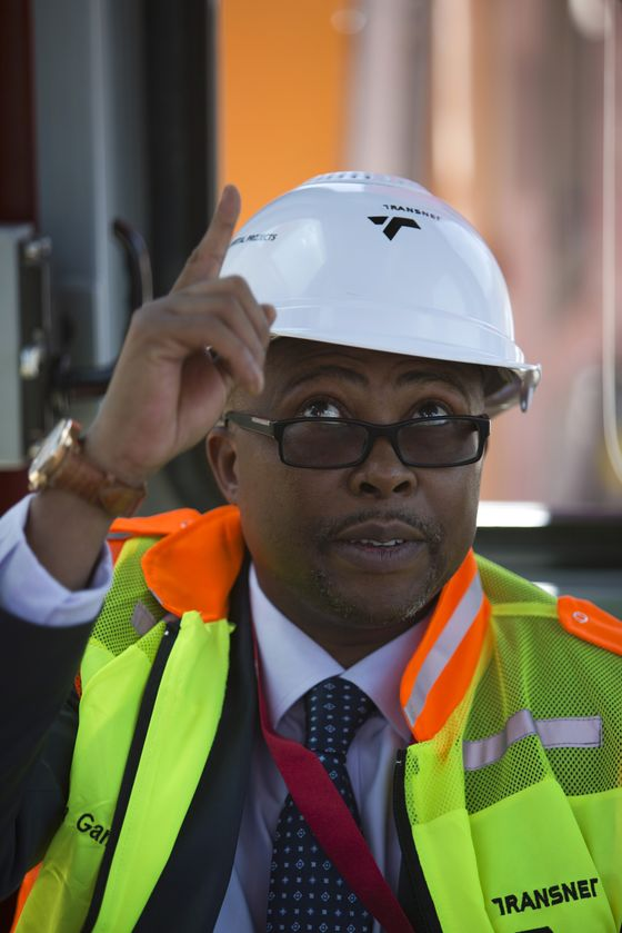 South Africa's Transnet Board Says It's Moving to Fire CEO Gama