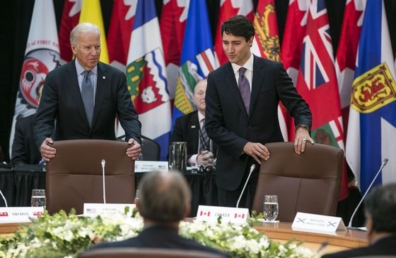 Biden-Trudeau Talks on Tuesday Seek to Ease Strained Relations