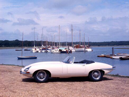The Jaguar E-type Series 1 Roadster 1965.