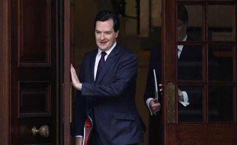 U.K. Chancellor of the Exchequer George Osborne