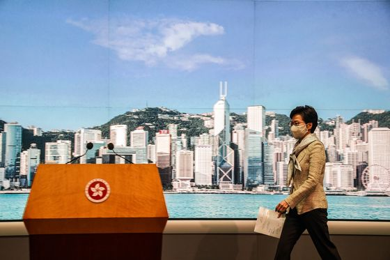 U.S. Vows Strong Actions Against China Law: Hong Kong Update