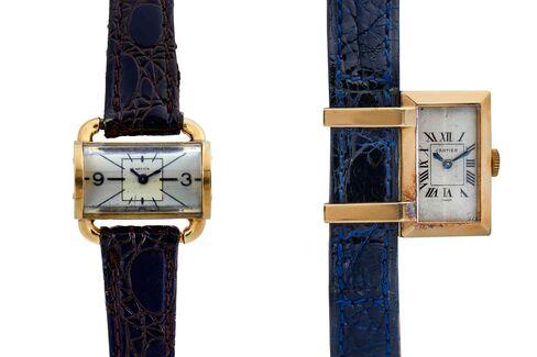 Not every rectangular Cartier watch is a Tank.