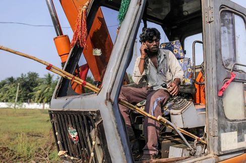 One Man's Plan to Build Singapore in India Sends Land Soaring