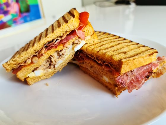 Chef Blumenthal Puts Coffee Flavor Inside New Breakfast Sandwich