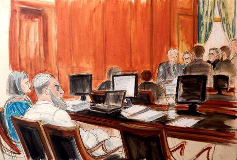 Khaled al-Fawwaz In Court