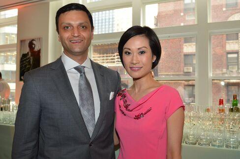 Citigroup's Serge Tismen and Ida Liu. Photographer: Amanda Gordon/Bloomberg