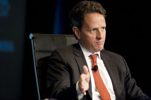 U.S. Treasury Secretary Timothy Geithner.
