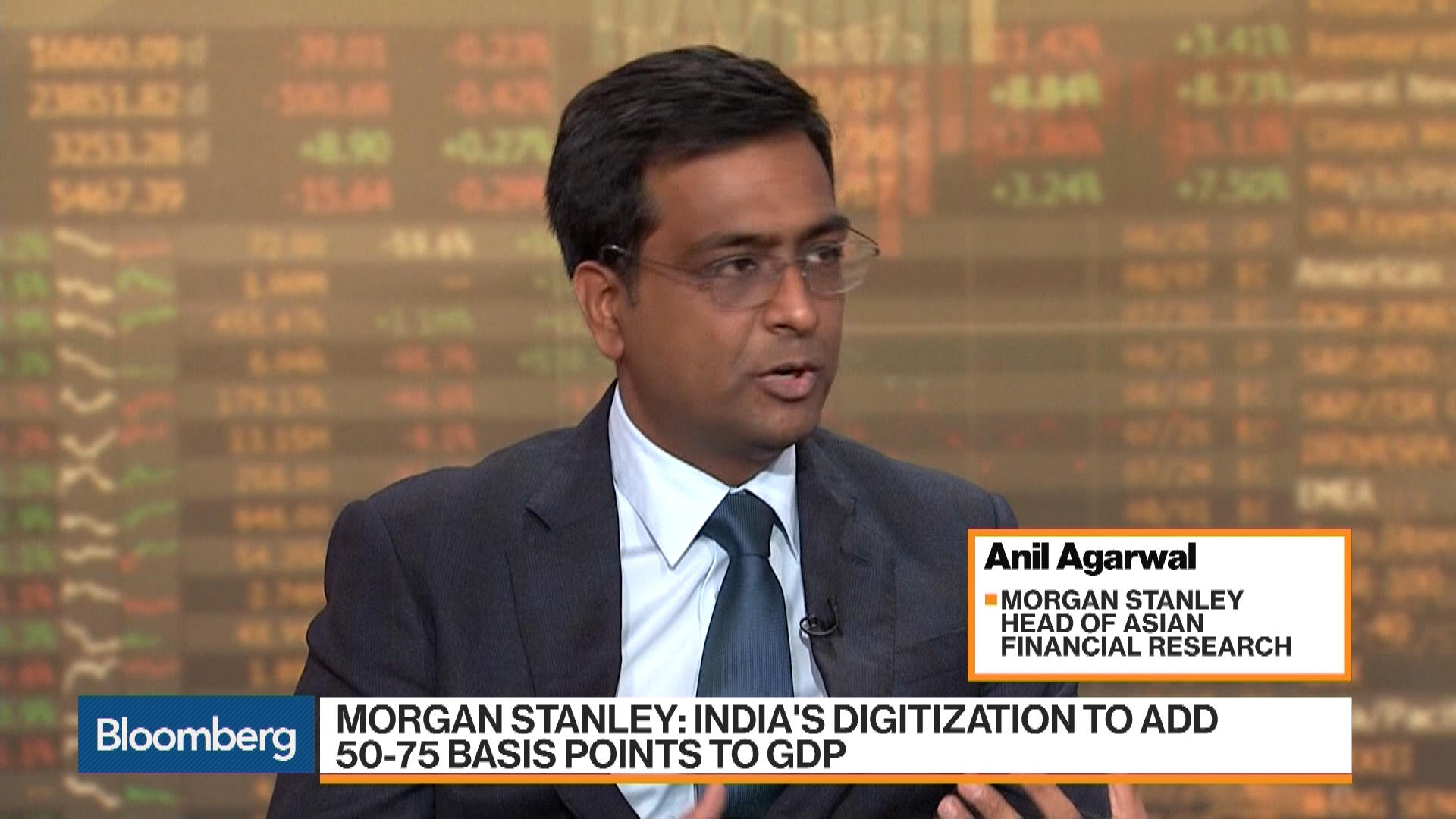 Morgan Stanley's Agarwal Sees India Opportunity