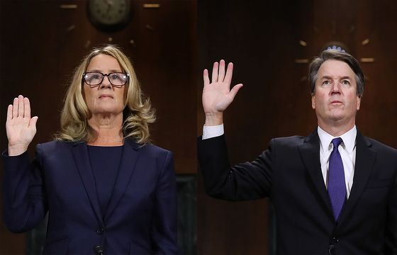 Kavanaugh Still Standing After Senate Showdown