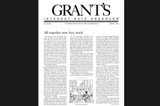 Grant's Interest Rate Observer