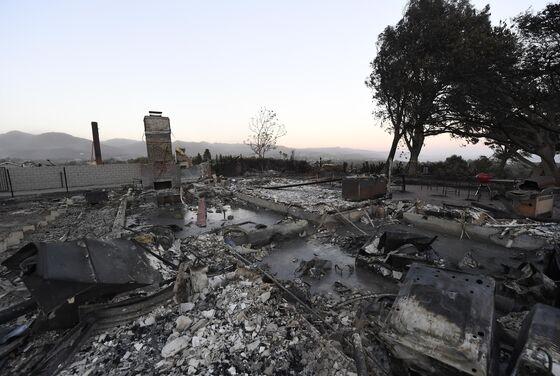 High Winds Fan California Fires as Blaze Erupts Near Los Angeles