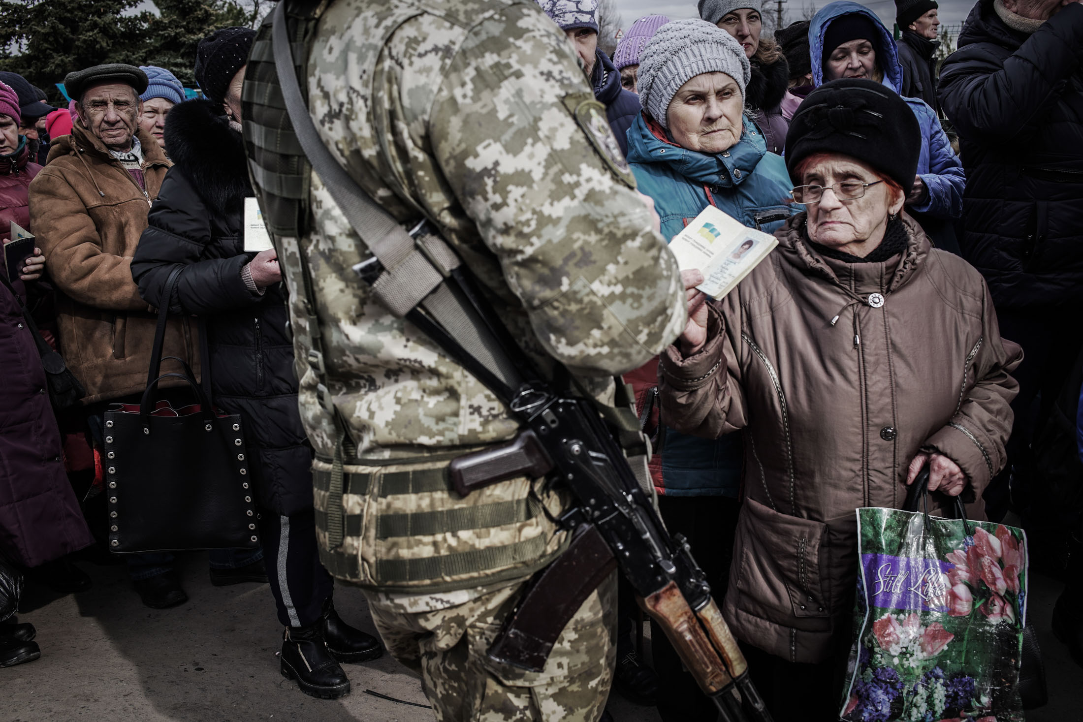 At the Front in Ukraine's War With Russia-Backed Separatists