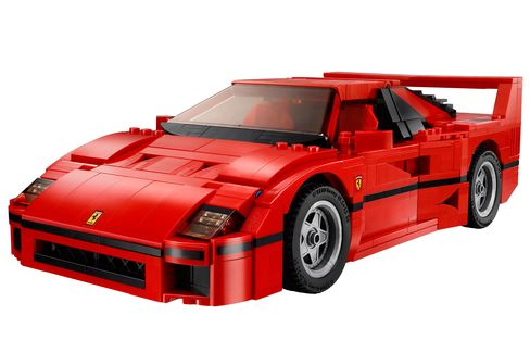 The model F40 looks exactly like the original.