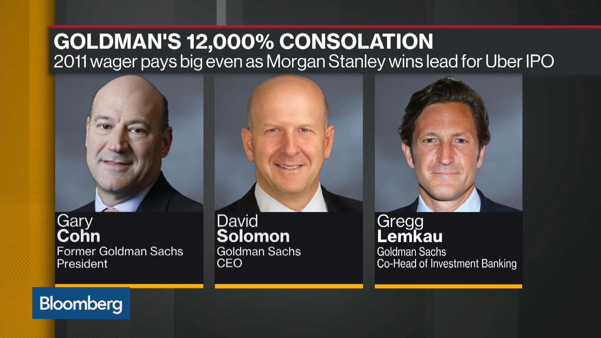 Goldman's 12,000% Consolation Prize
